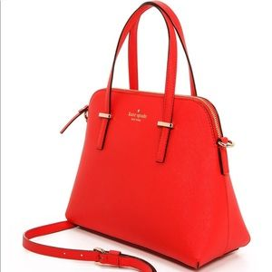 Red Kate Spade Purse and shoulder bag